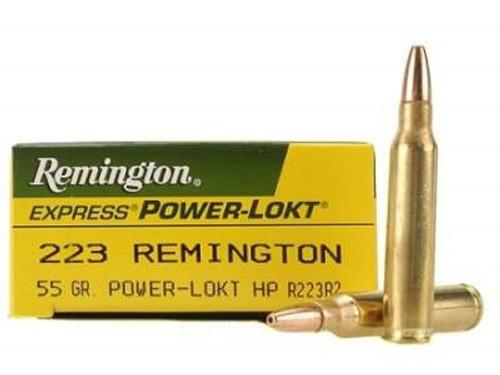 Remington 223 Rem Ammunition Power-Lokt R223R2 55 Grain Hollow Point 20 rounds