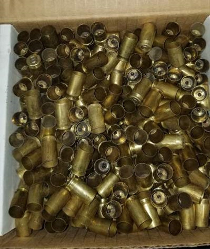 380 ACP Brass Once Fired Brass Casings Raw Not Washed 500 pieces