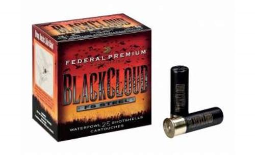 "Federal 12 Gauge PWB1463 Black Cloud Waterfowl Ammunition 2.75"" 1oz #3 1500fps Steel Shot 25 rounds"