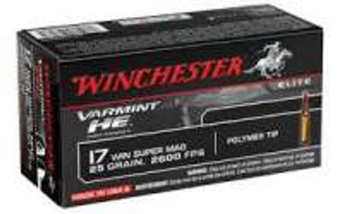 Winchester Varmint HE 17WSM 25Gr V-Max S17W25 50 rounds