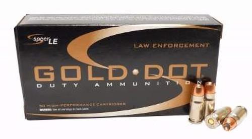 CCI 357 Sig Ammunition Speer Gold Dot CCI53972 125 Grain Hollow Point 50 Rounds