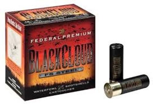 "FEDERAL 12GA 3"" 1.25OZ BBB BLACK CLOUD WATERFOWL SHOTSHELLS PWB142BBB 1450fps 250 Rounds"