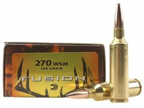 Federal 270 Win Fusion F270FS2 150 gr Spitzer BTSP 20 rounds