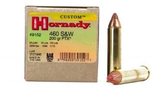 Hornady 460 S&W Custom H9152 200 gr FTX 20 rounds