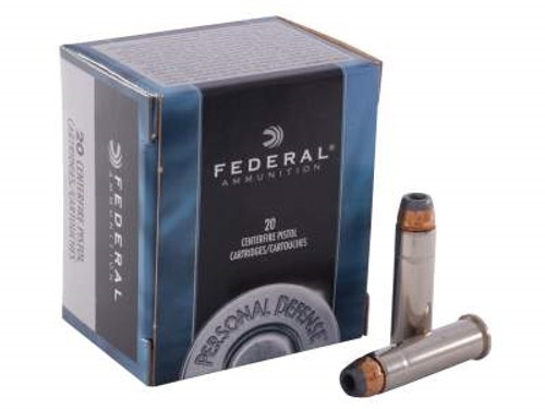 Federal 357 Magnum Ammunition C357E 158 Grain Jacketed Hollow Point 20 rounds