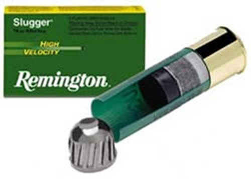 "Remington 12 GA Slugger 2 3/4"" 7/8 oz Rifled Slug 1800fps SPHV12RS 5 rounds"