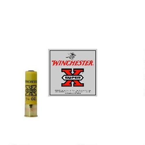 "Winchester 20 Gauge Ammunition Super-X X203RS5 3"" 3/4oz 1800FPS RIFLED SLUG 5 rounds"