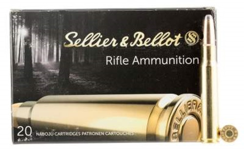 Sellier & Bellot 30-06 Springfield Ammuntion SB3006B 180 Grain Soft Point 20 rounds