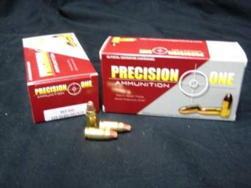 Precision One 357 Sig Ammunition 125 Grain Jacketed Hollow Point 50 rounds