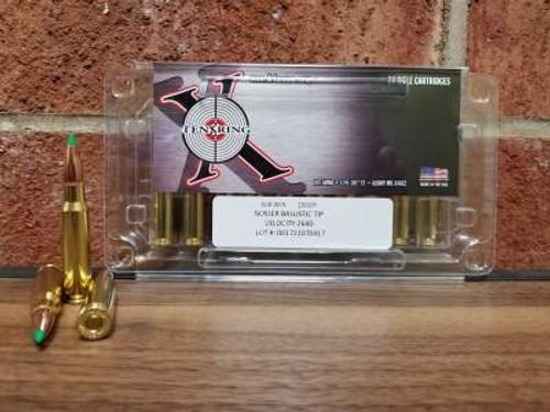 Ten Ring 308 Win Ammunition 150 Grain Nosler Ballistic Tip 2640fps 20 rounds