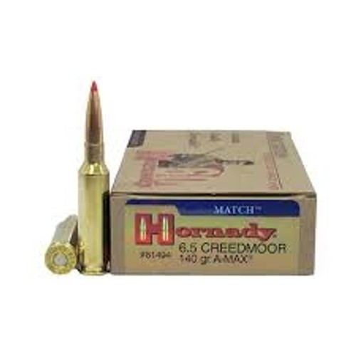 Hornady Match 6.5mm Creedmoor H81494 140gr A-Max BT 20 rounds