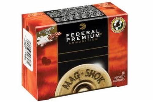 "Federal 12 Gauge Ammunition MAG-Shok PFC157F4 3"" #4 1-3/4oz 1300fps 10 rounds"