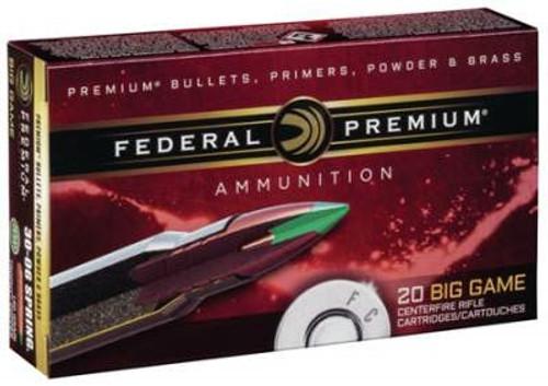 Federal 6.5 Creedmoor Ammunition Vital-Shok P65CRDTC1 120 Grain Trophy Copper 20 rounds