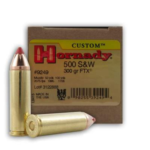 Hornady 500 S&W H9249 Evolution FTX 300 gr 20 rounds