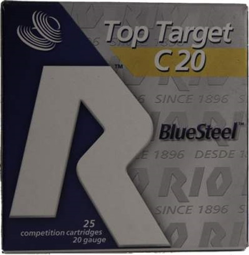 "Rio 20 Gauge Ammunition TTBS207 BlueSteel 2-3/4"" 7/8oz #7 shot 1230FPS CASE 250 rounds"