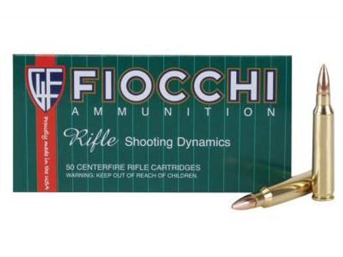 Fiocchi 223 Rem Ammunition Shooting Dynamics 223A 55 Grain Full Metal Jacket Case of 1000 Rounds