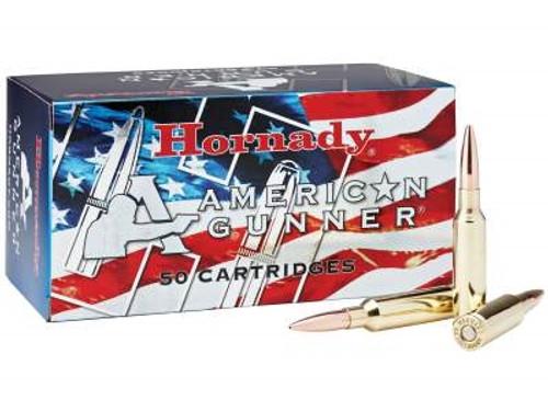 Hornady 6.5 Creedmoor Ammunition American Gunner H81482 140 Grain Boat Tail Hollow Point 50 rounds
