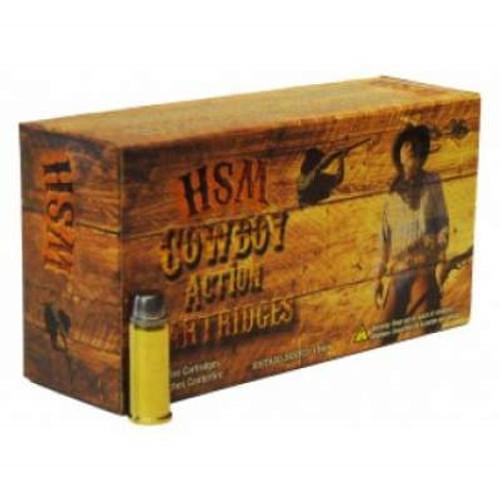 HSM 41 Rem Mag Cowboy Action 210 gr Semi-Wad Cutter LFN 50 rounds