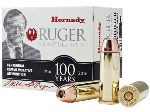 Hornady 480 Ruger Ammunition Commemorative H91384 325 gr XTP 20 rounds