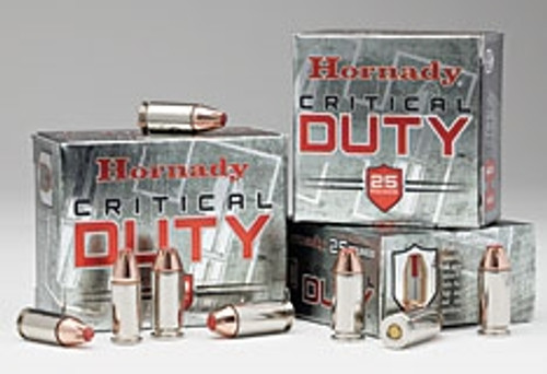 Hornady 10mm Auto H91256 Critical Duty 175 Grain FTX Hollow Point 20 rounds