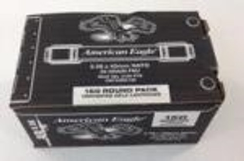 Federal 5.56x45mm NATO Ammunition XM193BK150 55 Grain Full Metal Jacket CASE 600 rounds