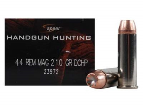 CCI 44 Magnum Speer Deep Curl CCI23972 210 Grain Jacketed Hollow Point 20 rounds