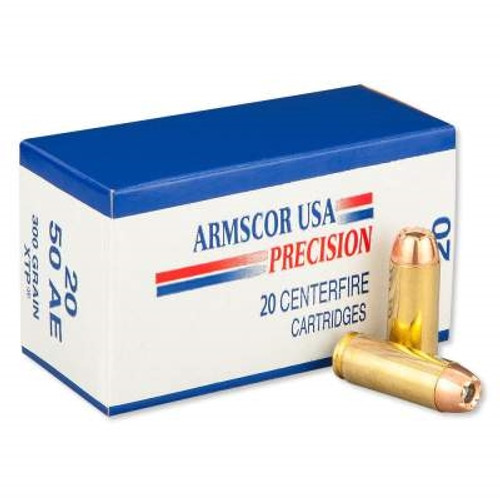 Armscor 50 AE Ammunition 300 Grain XTP 20 rounds
