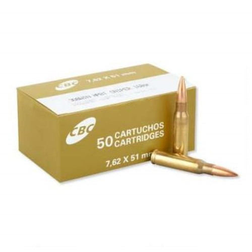 Magtech CBC 308 Win Ammunition Sniper MT308D 168 Grain Boat Tail Hollow Point CASE 400 rounds