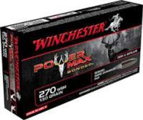 Winchester 270 WIN Power Max Bonded X2705BP 130gr PHP 20 rounds