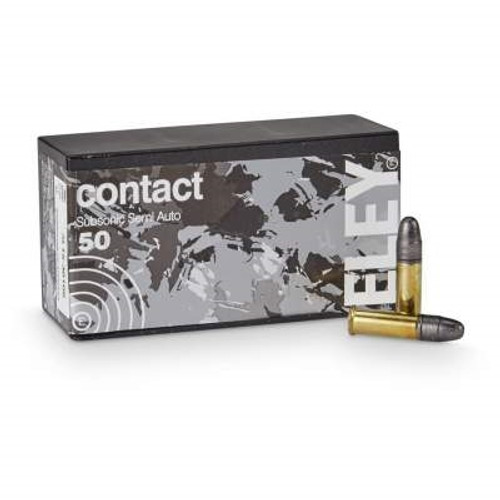Eley 22LR Contact Subsonic ELEY2300 42 gr LRN 50 rounds
