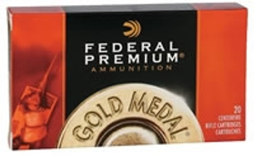 Federal 308 Win Ammunition Gold Medal GM308M 168 Grain Sierra Matchking Boat Tail Hollow Point 20 Rounds