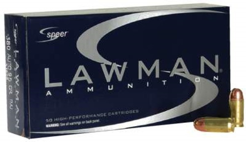 CCI 380 Auto Speer Lawman CCI53608 95 Grain Total Metal Jacket 50 rounds