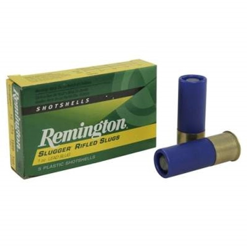 "Remington 12 GA Slugger Law Enforcement Duty 2 3/4"" 1 oz Rifled Slug SP12RSBBRICK 1560fps 50 rounds"