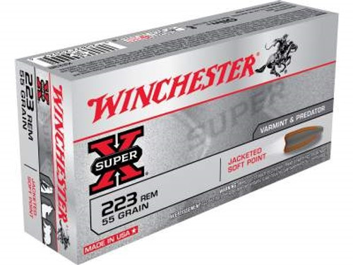 Winchester 223 Super-X X223R 55 gr PSP 20 rounds