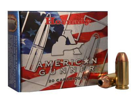 Hornady 40 S&W American Gunner H91364 180 gr XTP 20 rounds