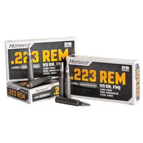 Century 223 Rem Ammunition Hot Shot AM2037 55 Grain Full Metal Jacket 20 rounds