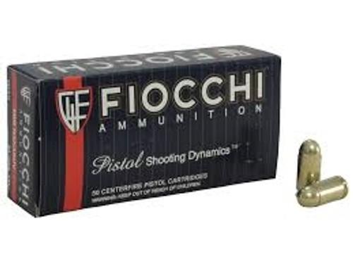 Fiocchi 9mm Makarov F9MAK 95gr FMJ 50 rounds