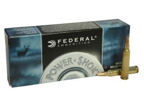 Federal 223 Rem Ammunition Power-Shok F223A 55 Grain Soft Point 20 rounds
