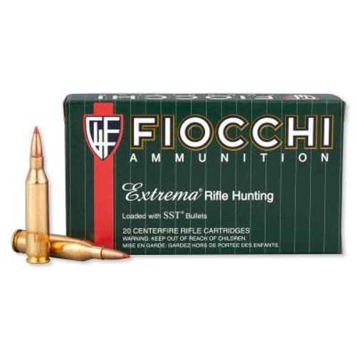 Fiocchi 7mm-08 Remington Ammunition 7MM08HSA 139 Grain SST Polymer Tip 20 rounds