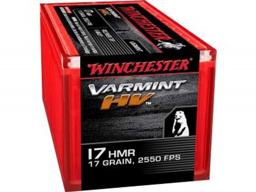 Winchester 17 HMR Supreme S17HMR1 17 gr V-Max CASE 1000 rounds
