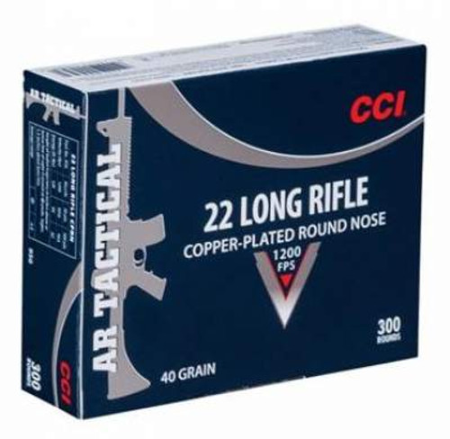 CCI AR Tactical 22LR 40 Gr 1200 FPS CPRN 300 rounds