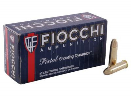 Fiocchi 38 Special Ammunition FI38A 130 Grain Full Metal Jacket 50 rounds