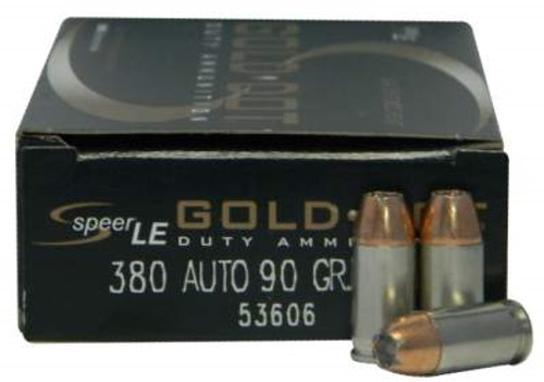 CCI 380 Auto Speer Gold Dot CCI53606 90 gr JHP 50 rounds