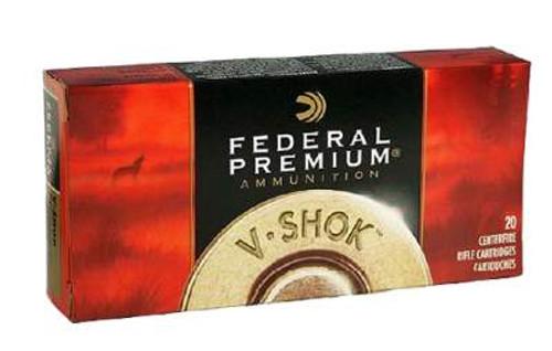Federal 204 Ruger Ammunition V-Shok P204C 40 Grain Nosler Ballistic Tip 20 Rounds