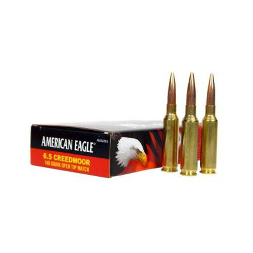Federal 6.5 Creedmoor Ammunition American Eagle AE65CRD2 120 Grain Case of 200 Rounds