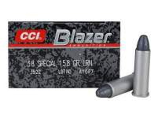 CCI 38 Special Case Blazer 3522 158 Grain Lead Round Nose Case of 1000 Rounds