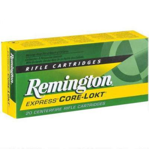 Remington 6.5mm Creedmoor Ammunition Core-Lokt R65CR1 140 Grain Pointed Soft Point Case of 200 Rounds