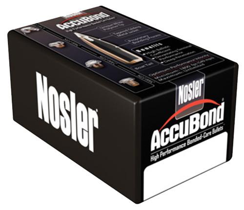 "Nosler 30 Caliber/ 308"" Reloading Bullets 54825 Accubond 180 Grain  Ballistic Tip 50 Pieces"