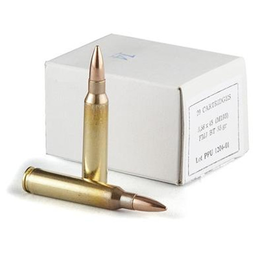 Prvi PPU 5.56x45 M193 Ammunition PPN5561B 55 Grain Full Metal Jacket Boat Tail Case of 1000 Rounds