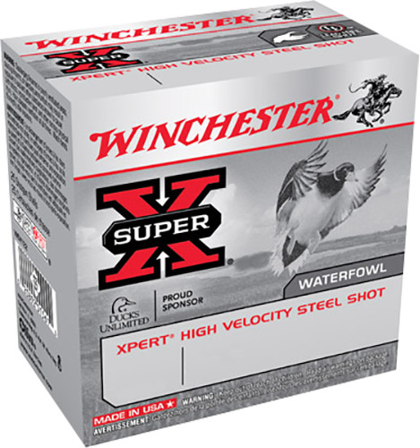 "Winchester 20 Gauge WEX2032 Ammunition Expert Hi-Velocity Waterfowl 3"" 2 Shot 7/8oz 1500fps Case of 250 rounds"